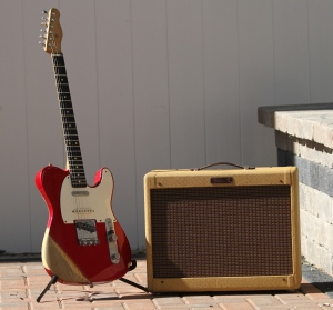 Red Tele Pro Junior 1